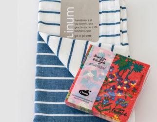 Linum-handdukar