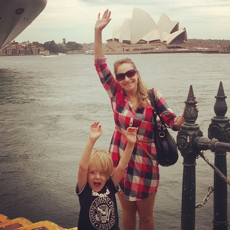 Hej från Sydney!