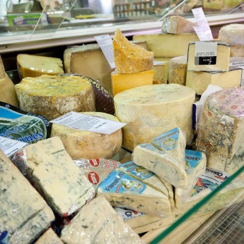 Opastöriserade ostar på Nosh Food Market
