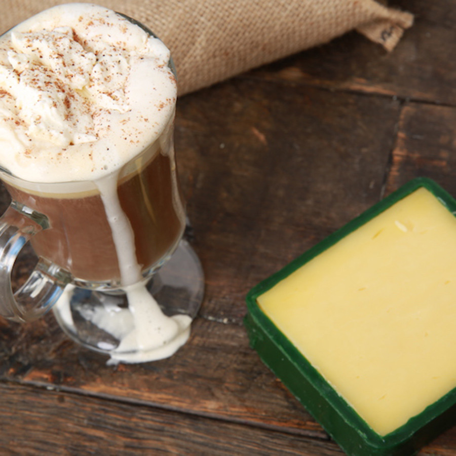 Irish coffee med irländsk cheddar - foto Cheeserank.com