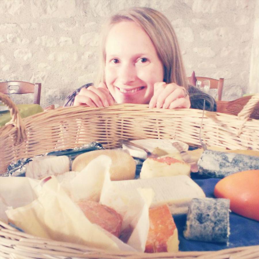 Brie, myself and I med en fantastisk fransk ostbricka