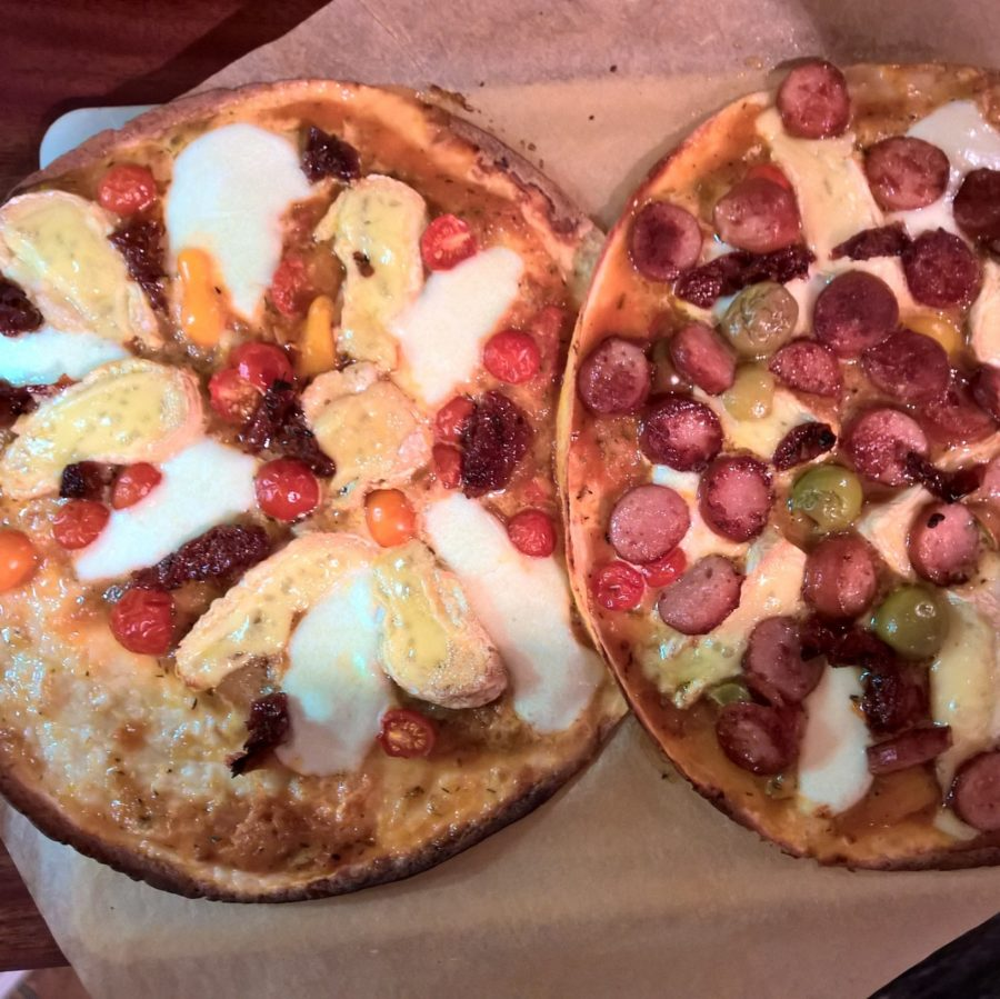 Pizza smält