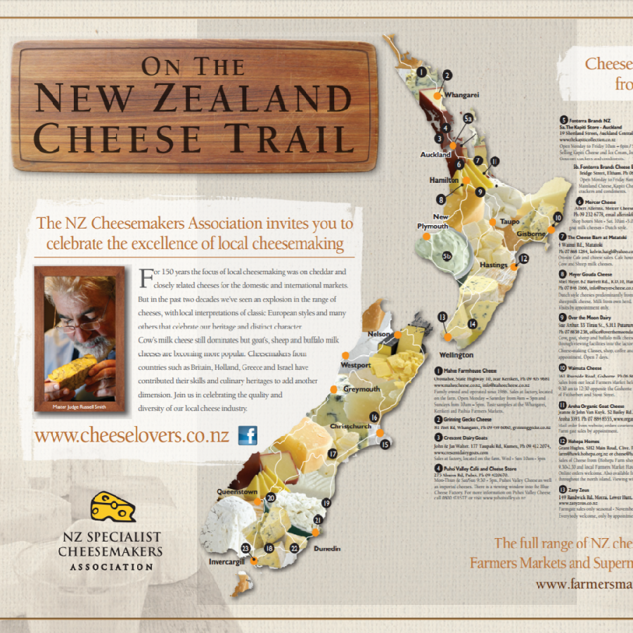 NZ Cheese Trail