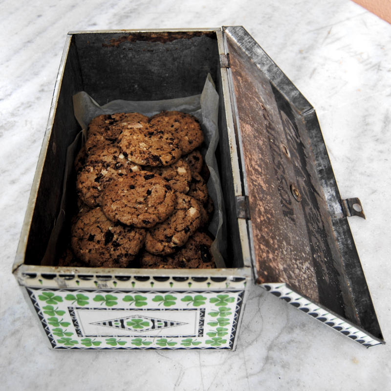 Recept på chocolate chip cookies Foto: Sofia Henriksson