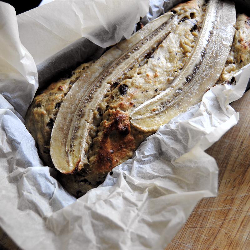 Bananbröd. Recept och foto: Sofia Henriksson.
