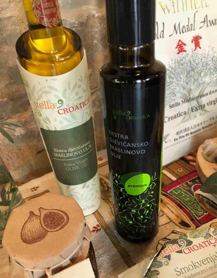 Premium olivoljan från Stella Croatica är fruktig och god.